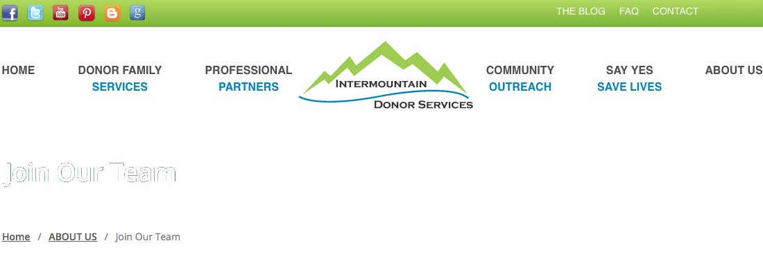 Intermountain Donor Services